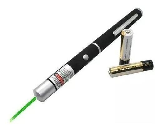 Puntero Laser 100mw Verde 4km Alcance Caja . Soho.