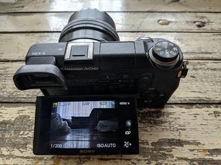 Camara Sony Nex 6 Mirrorless