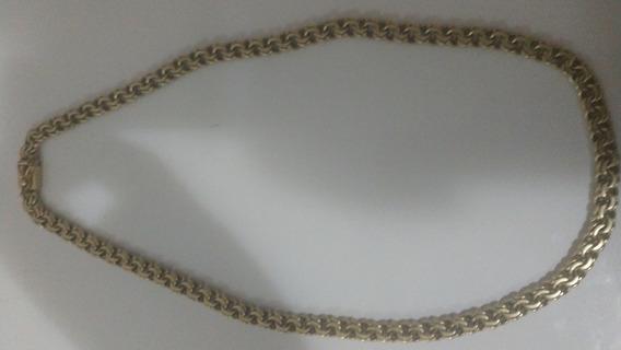 Cordão Prata 950 Banhada A Ouro 18k Frete Grátis 12x S/juros