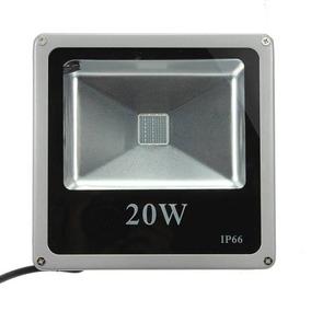 Refletor De Led 20 Watts Bivolt 110 E 220v Rgb Colorido