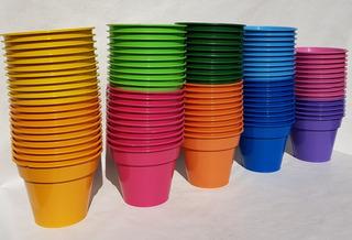 Macetas Plasticas De Colores Envio Gratis 12, 14, 16, 18, 20