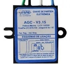 Partida Eletrônica Agc V3.15 Trapp 1 Cv 110/220v
