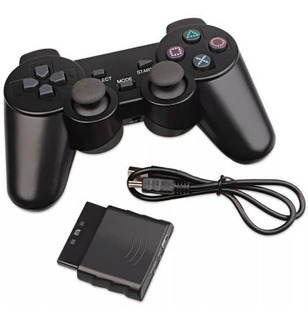 Joystick Inalámbrico 3en1 Para Pc Ps2 Ps3 Play 2 3 Clicshop