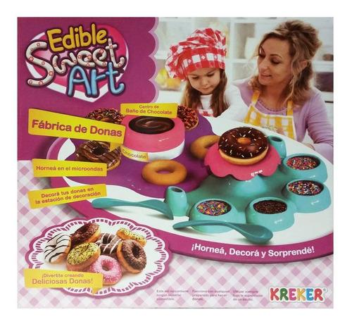 Fabrica De Donas Edible Sweet Art Set Cocina Tv Educando