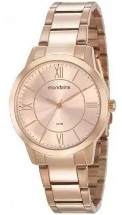 Relógio Mondaine Feminino 53698lpmgre3 Rosê Novo Original