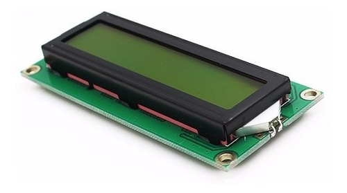 Lcd 16x2 1602 Back Light Verde