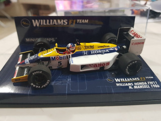 Nigel Mansell - Williams Vice 1986 1:43 - Ano De Ouro Da F1