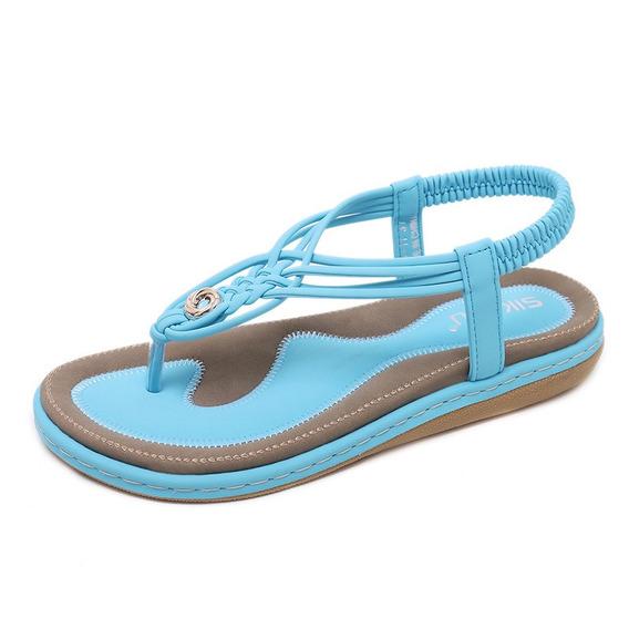 Mulheres Sapatos Verão Sandálias Casual Lazer Praia Sapatos