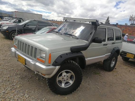 Camioneta Jeep Cherokee Modelo 98 4x4 Full Injection 5 Puert