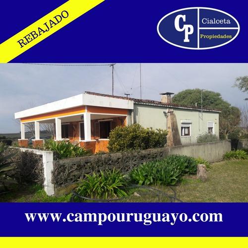 Chacra A 40 Km De Montevideo Con Linda Casa