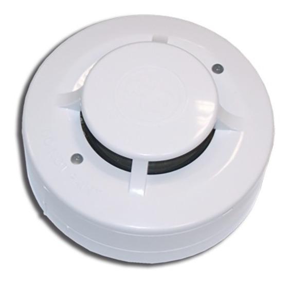 Sensor Detector De Humo De 4 Hilos 12 Volts Di-4h C/base