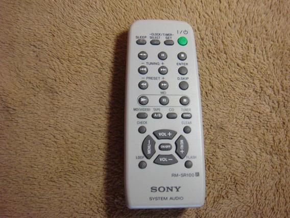 Controle Remoto Original Sony Modelo Rm-sr100