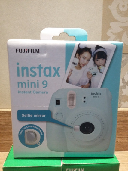 Câmera Instax Mini 9 Fuji Film