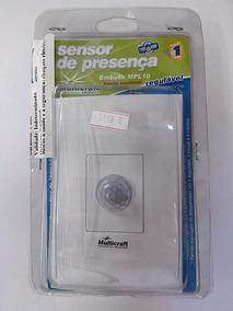 Sensor Presença Multicraft Com Foto Embutir