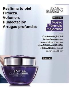 Anew Platinum Crema Facial Antiarrugas De Noche De 55 A 65 Años