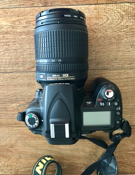 Câmera Nikon D90 - Profissional Com Lente E Acessórios