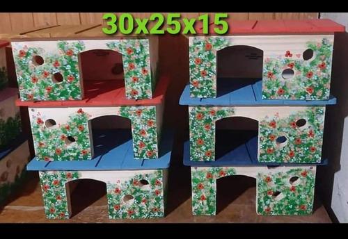 Imagen 1 de 3 de Casas Para Erizo Hamsters Cobayos