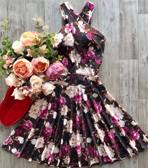 Vestido Boneca Florido