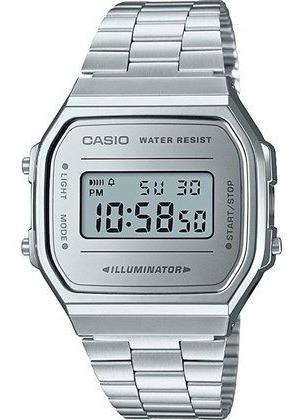 Relógio Casio Vintage Fundo Espelhado A168wem-7df + Frete