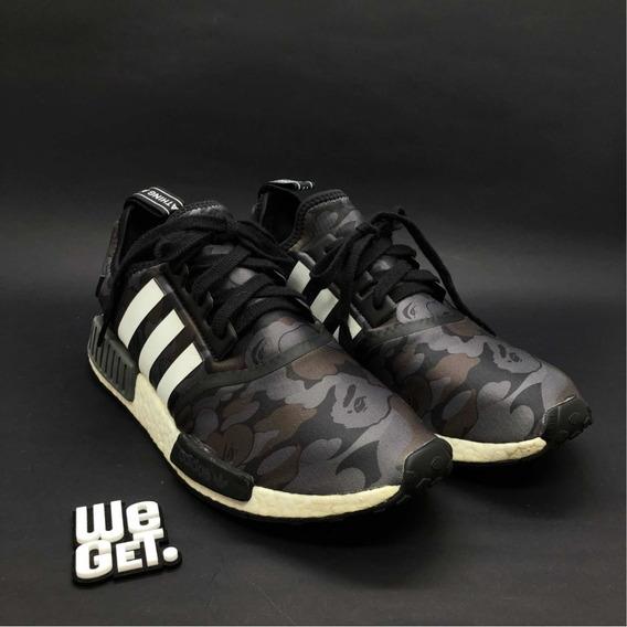 adidas Nmd R1 X Bape Black