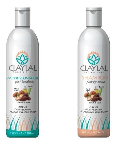 Tratamiento Post Keratina Shampoo Y Acondicionador 500ml