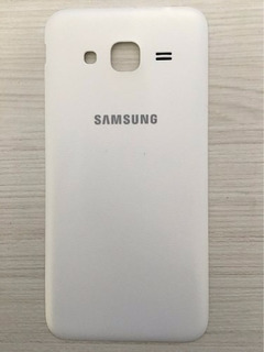 Tampa Traseira Samsung Galaxy J3 Branca #