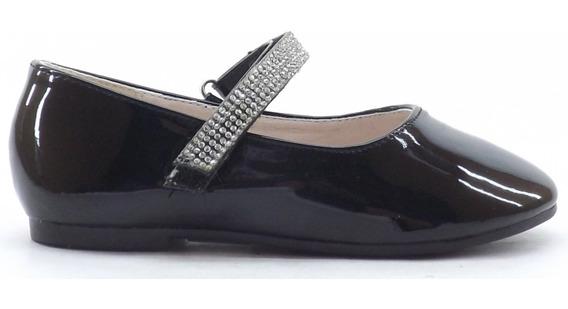 Zapatos Acharolados Nena Niña Botanguita Queen Abrojo Nuevos