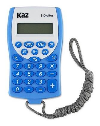 Calculadora De Bolso 8 Digitos Com Cordão-kz5003
