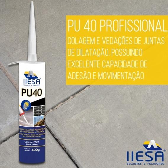 Pu 40 Selante Cola 10 Tubos Poliuretano Promoção