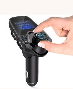 Transmissor Fm Veicular Bluetooth Atende Cartão Sd Mp3 Usb
