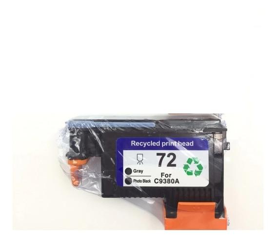 Cabeça Impressão Compatível Hp 72 C9380a Gray Photo Black