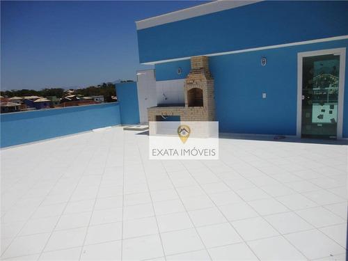 Imagem 1 de 16 de Apartamento Com Terraço, Próximo Ao Centro De Rio Das Ostras - Co0040