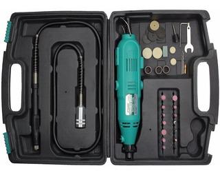 Minitorno Mini Torno 40 Pzs Uso Profesional Proskit Pt-5501i Potente Herramienta Multiuso Con Accesorios Y Kit Completo