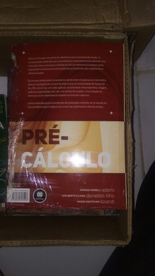 Livro Pre Calculo