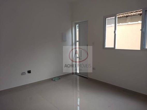 Casa Com 2 Dormitórios À Venda, Nova, 60 M² Por R$ 200.000 - Vila São Jorge - São Vicente/sp - Ca1605