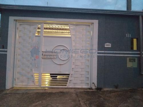 Imagem 1 de 23 de Casa A Venda -  Residencial Novo Mundo - Campinas R$ 280.000,00 - Ca01196 - 69507072