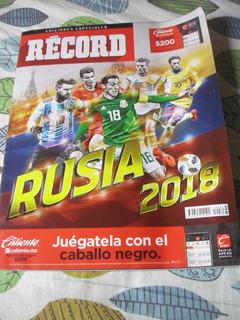 Revista Record Rusia 2018 Edicion Especial