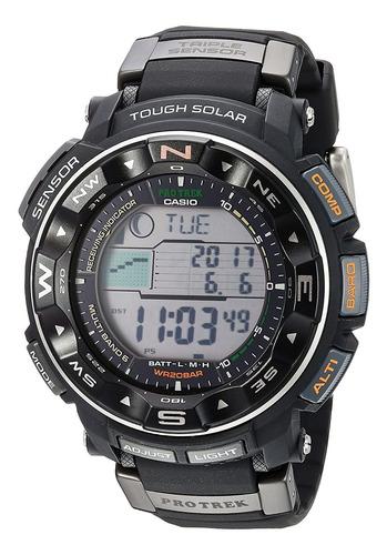 Imagen 1 de 4 de Reloj Casio Pro Trek Prw2500r, Deportivo, Solar, 51mm, Negro