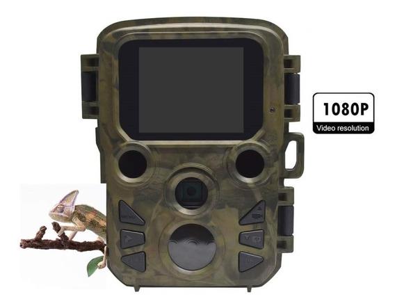 Câmera De Caça 1080p 12mp Ip66 Com Tela Lcd Resistente Água
