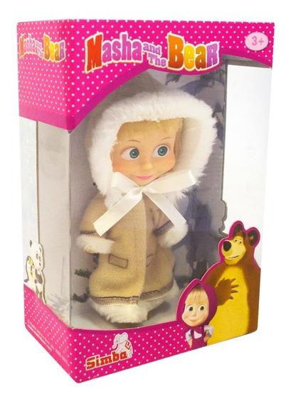 Boneca Masha E O Urso Masha Roupa De Inverno 13 Cm Sunny