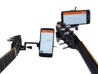 Suporte De Celular Para Violão Guitarra Cifrashelf 2 Em 1