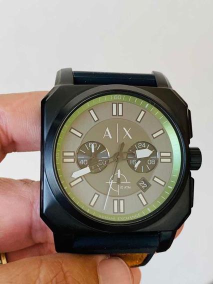 Relógio Armani Exchange Quadrado Mod. Ax1652/0pn A/proposta