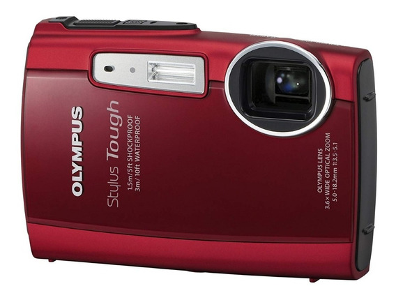 Camera Dig Olympus Stylus Tough-3000 12mp Prova D´água Hdmi!