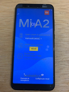 Smartphone Xiaomi Mi A2 64gb Global Preto Usado