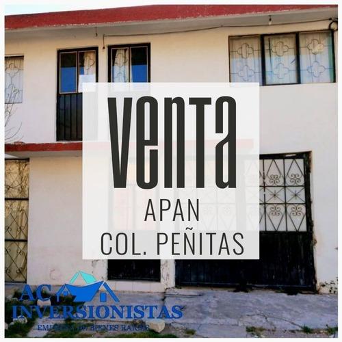 Casa En Venta Apan Hidalgo Cerca De Zona Escolar