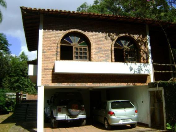 Casa Em Condomínio Com 3 Quartos Para Comprar No Estancia Serrana Em Nova Lima/mg - Ec12058