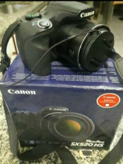 Câmera Canon Powershot Sx520 Hs Novinha!