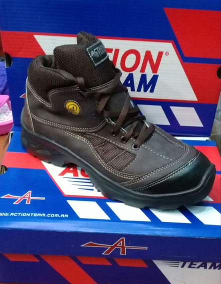 Zapatillas Botitas Action Team Trekking 39 Al 46