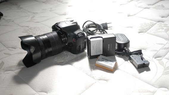 Canon T3i Com Lente E Acessorios