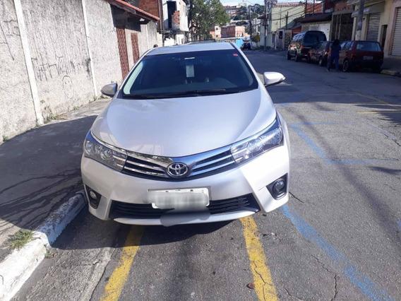 Toyota Corolla Xei 2.0 Flex Multi Drive 2015 Prata Revisado
